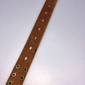 J. Crew Accessories - J. Crew Studded Leather Belt